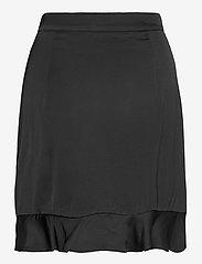 By Malina - Deena skirt - omlottkjolar - black - 2