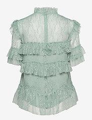 By Malina - Rachel blouse - kortärmade blusar - serene blue - 2
