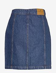 By Malina - Celie skirt - jeansowe spódnice - washed blue - 2