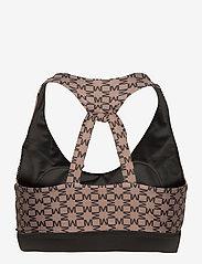 By Malina - Sports bra - sports bras - iconic print mud - 2