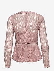 By Malina - Marilene blouse - långärmade blusar - rosé - 2