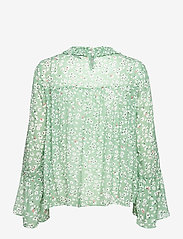 By Malina - Donna blouse - långärmade blusar - garden flower - 2