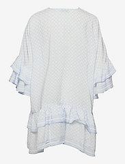 By Malina - Kyla dress - vardagsklänningar - iconic print ocean blue - 2