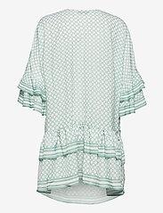 By Malina - Kyla dress - festklänningar - iconic print sage - 2