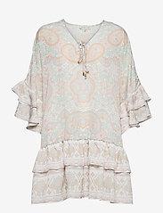 By Malina - Kyla dress - festklänningar - pastel paisley - 1