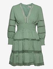 By Malina - Inez dress - korta klänningar - sage - 1