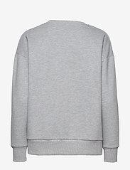 By Malina - Noodle sweatshirt - sweatshirts - grey melange - 2