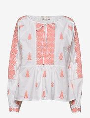 Rose blouse - PEACH BLUSH