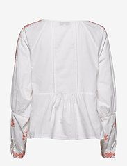 By Malina - Rose blouse - långärmade blusar - peach blush - 1