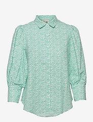 Eliza shirt - COASTAL FLOWER