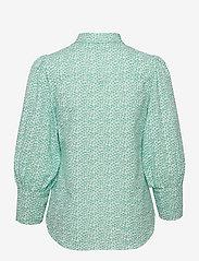By Malina - Eliza shirt - långärmade skjortor - coastal flower - 2