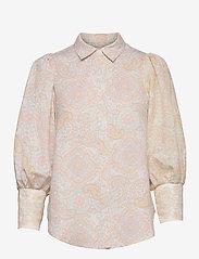 By Malina - Eliza shirt - långärmade skjortor - pastel paisley - 1