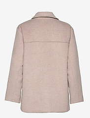 By Malina - Claire jacket - wool jackets - soft beige - 2