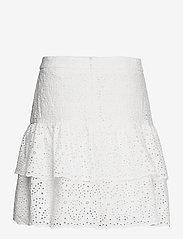 By Malina - Kacey skirt - korta kjolar - white - 1