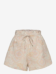 By Malina - Misty shorts - casual shorts - pastel paisley - 1