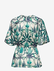 By Malina - Mina blouse - kortärmade blusar - beneath the palms - 1