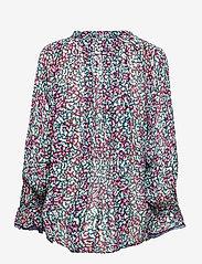 By Malina - Ivey blouse - långärmade blusar - wild blossom - 2