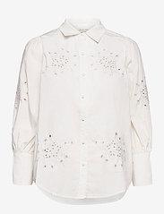 By Malina - Edwina shirt - chemises à manches longues - white - 1