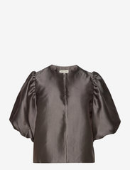 Cleo blouse - CHARCOAL