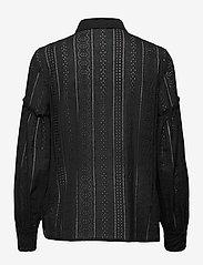 By Malina - Juno blouse - långärmade skjortor - black - 2