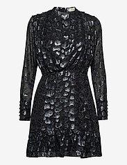 By Malina - Lively dress - festklänningar - black sparkle - 1