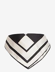 By Malina - Silk scarf - sjalar - iconic print cream - 2