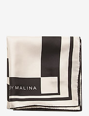 By Malina - Silk scarf - sjalar - iconic print cream - 3