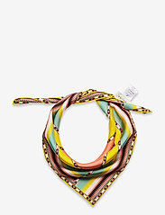 By Malina - Silk scarf 65x65 - sjalar & halsdukar - inca coral rose - 1