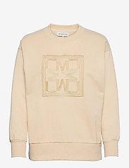 By Malina - Iconic sweatshirt - sweatshirts & hoodies - soft beige - 1