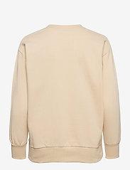 By Malina - Iconic sweatshirt - sweatshirts & hoodies - soft beige - 2