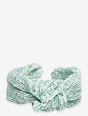By Malina - Jane pleated headband - haar accessoires - garden flower - 2