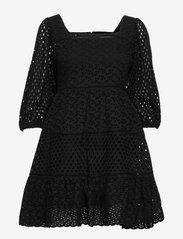 By Malina - Samira dress - sommerkjoler - black - 1