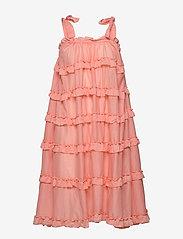 By Malina - Blanca dress - midi jurken - peach blush - 1