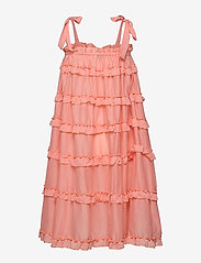 By Malina - Blanca dress - midi jurken - peach blush - 2