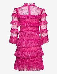 By Malina - Carmine mini dress - cocktailklänningar - cerise - 2