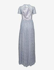 By Malina - Claire dress - kanten jurken - ocean blue - 2