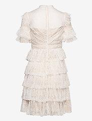 By Malina - Liona dress - cocktailklänningar - white - 2