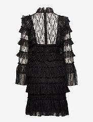 By Malina - Rosa dress - cocktailklänningar - black - 2