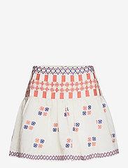 By Malina - Cora skirt - korta kjolar - white - 1