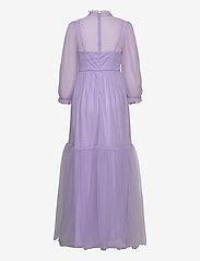 By Malina - Melany maxi dress - aftonklänningar - violet - 1
