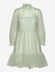 By Malina - Melany mini dress - festklänningar - aqua - 0