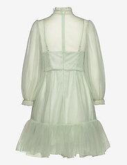 By Malina - Melany mini dress - festklänningar - aqua - 1