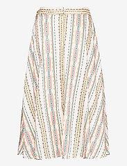 By Malina - Carmen skirt - midi kjolar - inca soft beige - 2