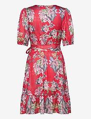 By Malina - Lydia dress - sommarklänningar - electric jungle pink coral - 1