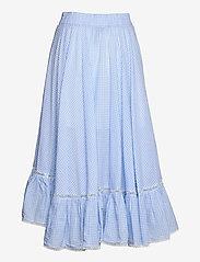 By Malina - Avery skirt - blue checker - 2