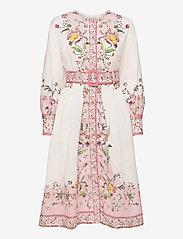 By Malina - Caily dress - midiklänningar - french rose pale pink - 1