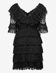 By Malina - Sky dress - spetsklänningar - black - 2