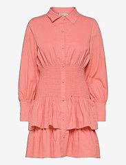 By Malina - Coralie dress - sommarklänningar - melon crush - 1