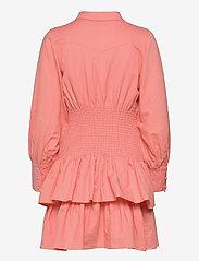 By Malina - Coralie dress - sommarklänningar - melon crush - 2