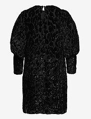 By Malina - Rubina velvet dress - cocktailklänningar - black sparkle - 2